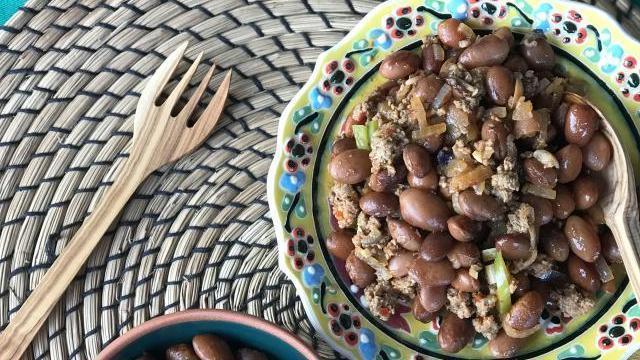Kıymalı Meksika Barbunyası-Chili Con Carne Tarifi