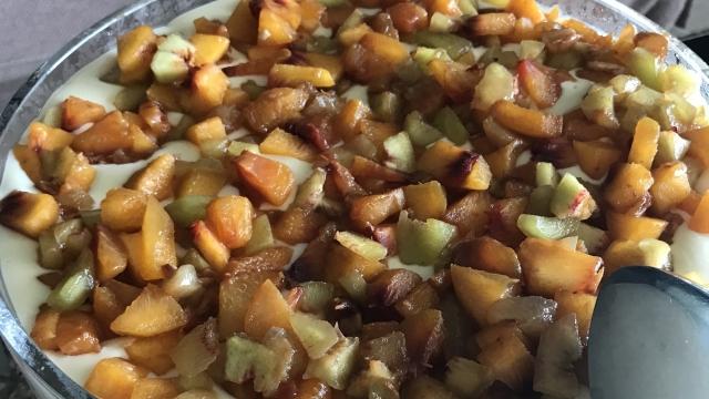 Meyveli Manolya Tatlısı Tarifi