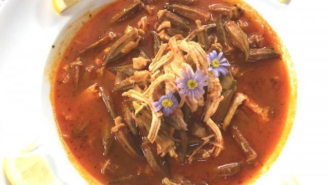 Tavuklu Bamya Çorbası Tarifi
