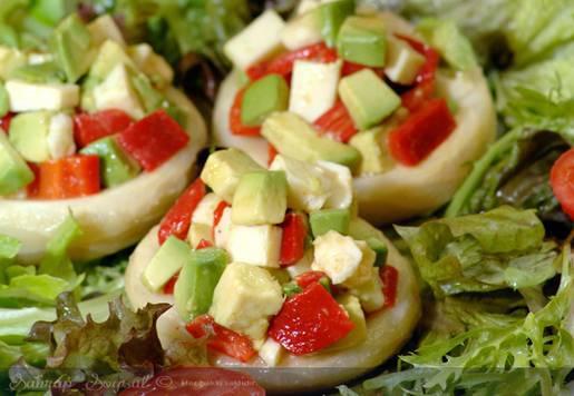 Alacalı Enginar Salatası Tarifi