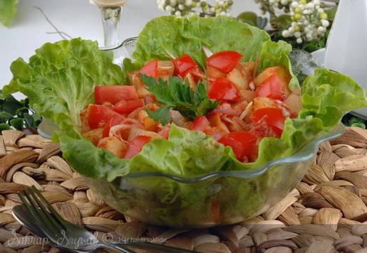 Almanların Geleneksel Patates Salatası Tarifi
