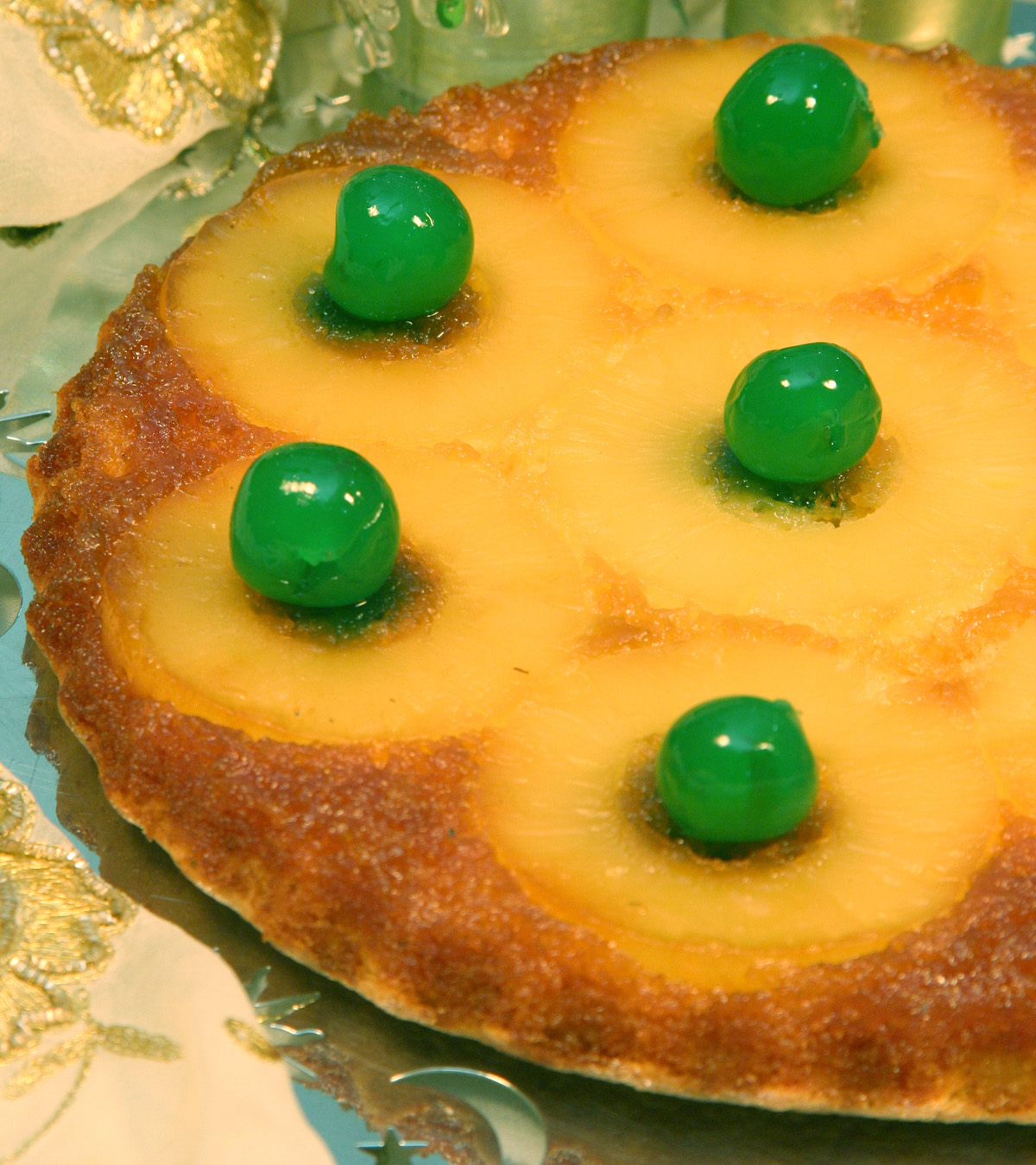 Ananaslı Pandispanya Tarifi