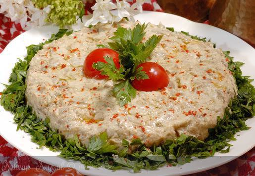 Babagannuş - Patlıcan Ezme Tarifi