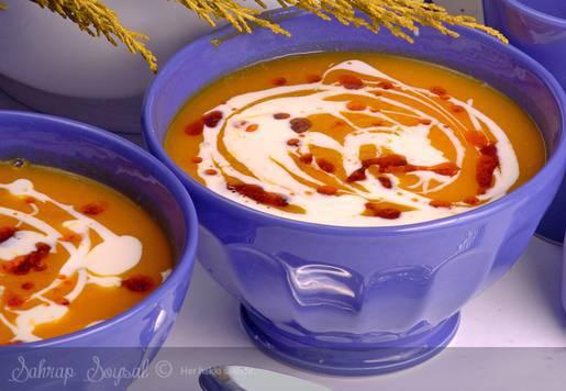 Baharatlı Balkabağı Çorbası Tarifi