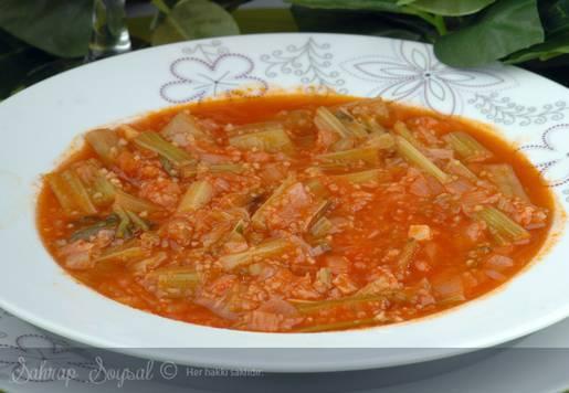 Bulgurlu Semizotu Çorbası Tarifi