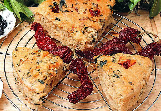 Celile Hanım\'ın Biberli Ekmeği Tarifi