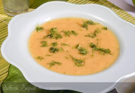 Dereotlu Patates Çorbası Tarifi