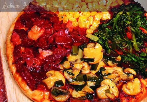 Dört Mevsim Pizza Tarifi