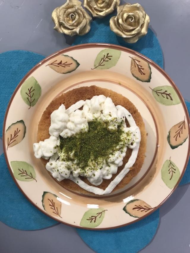 Ekmek Kadayıfından Kremalı Pasta Tarifi