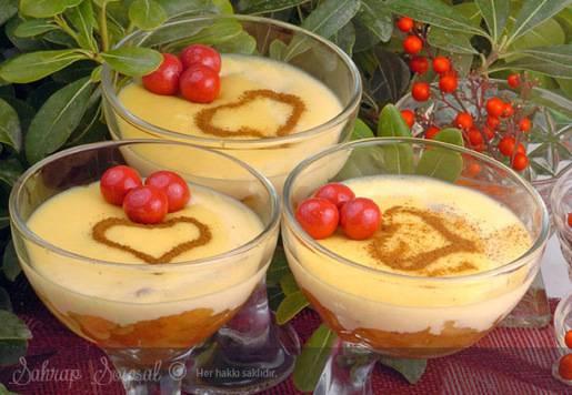 Elmalı Buzlu Krema Tarifi