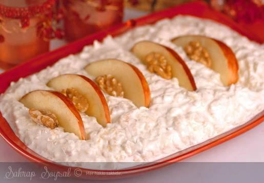 Elmalı Kereviz Salatası Tarifi