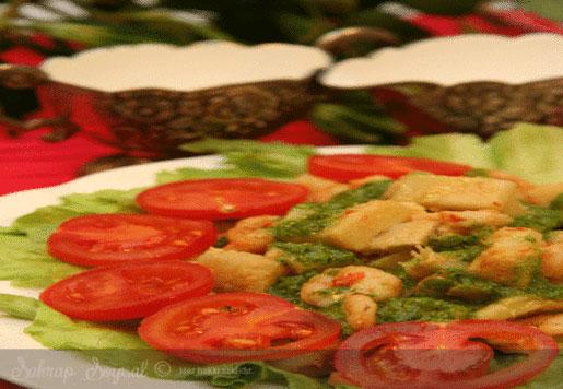 Enginarlı Karides Salatası Tarifi