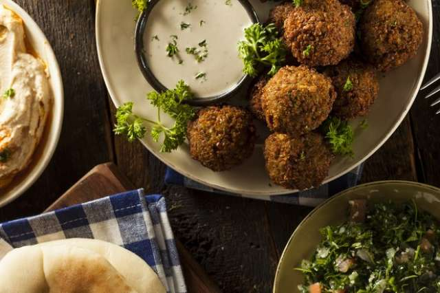 Falafel-Nohut Köftesi Tarifi