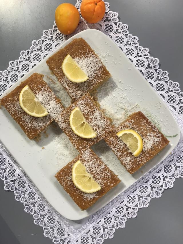 Glutensiz Portakallı Revani – Sağlıklı Mutfak Tarifi