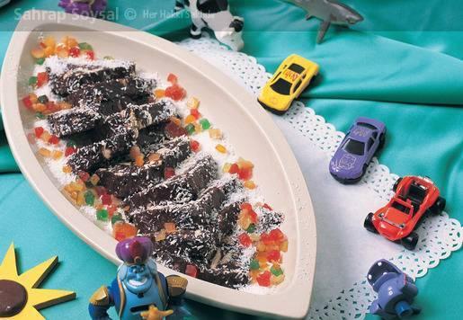 Hindistancevizli Mozaik Pasta Tarifi
