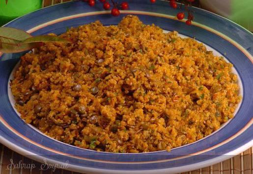 Ilık Mercimekli Kısır Salatası Tarifi