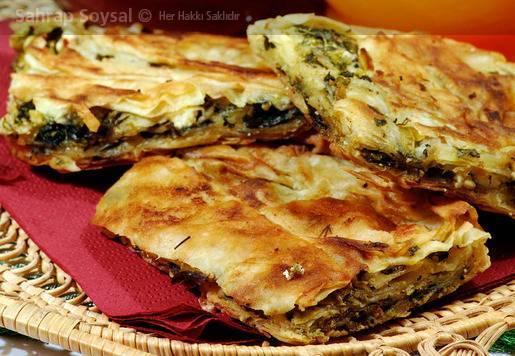 Ispanaklı Milas Böreği Tarifi