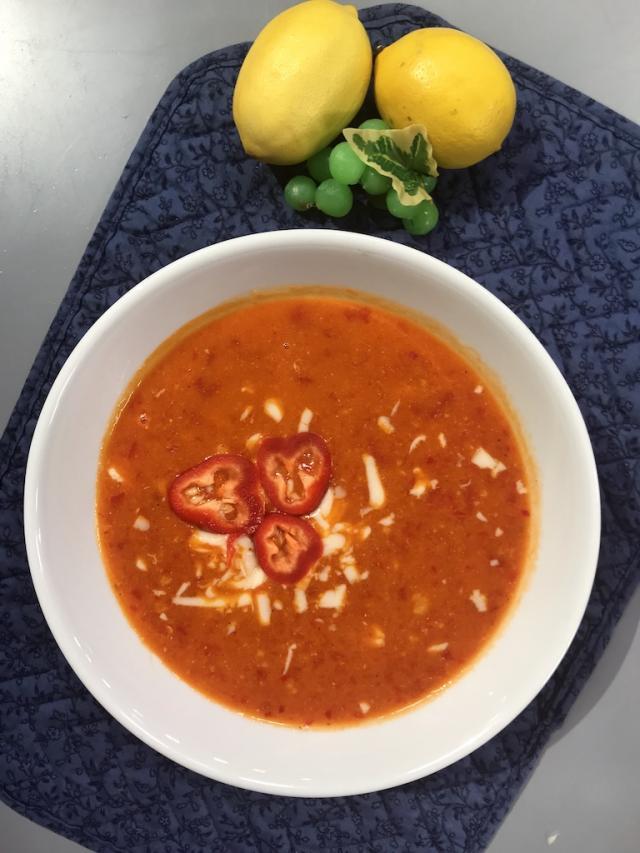 Kapya Biber Çorbası-Sağlıklı Mutfak Tarifi