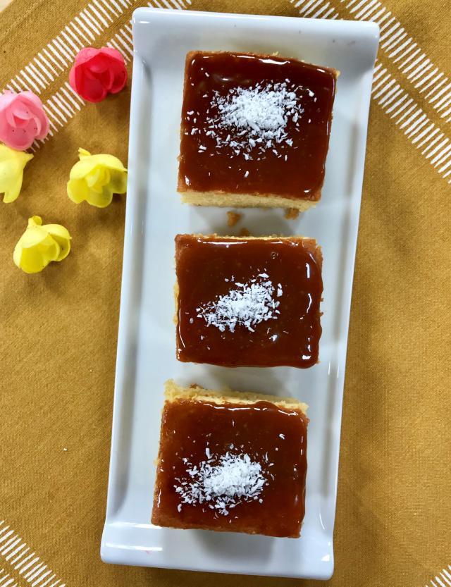 Karamelli Kıbrıs Tatlısı Tarifi