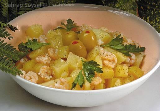Karidesli Patates Salatası Tarifi