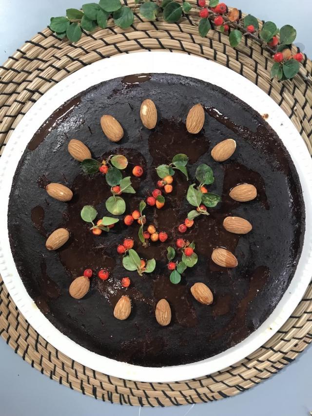 Kefirli Glutensiz Brovni Kek-Sağlıklı Mutfak-Tarifi