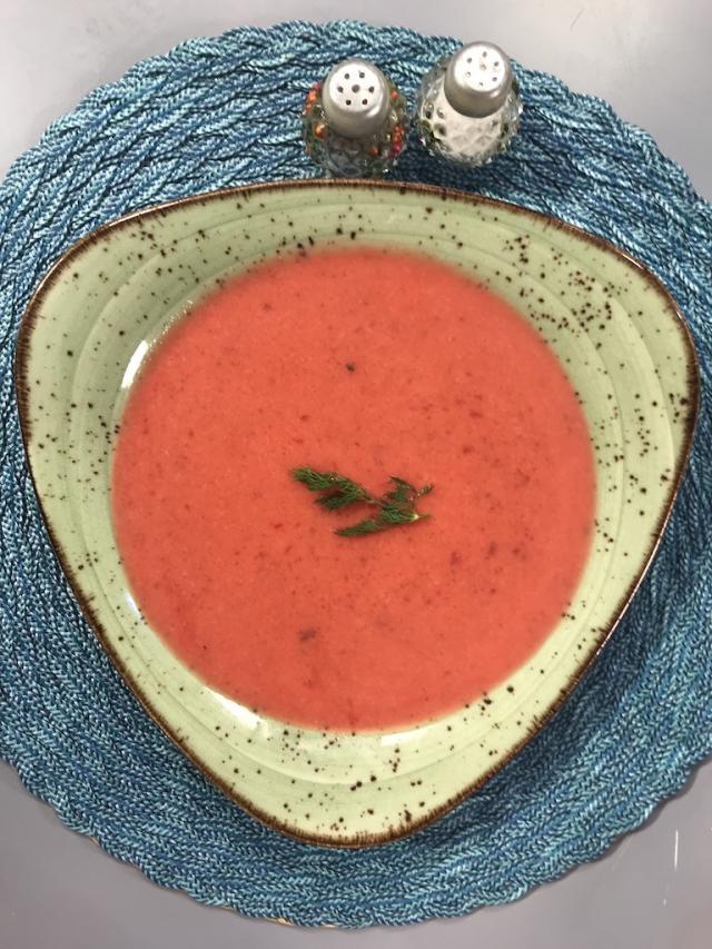 Kırmızı Pancar Çorbası Tarifi-Sağlıklı Mutfak & Kalp Dostu