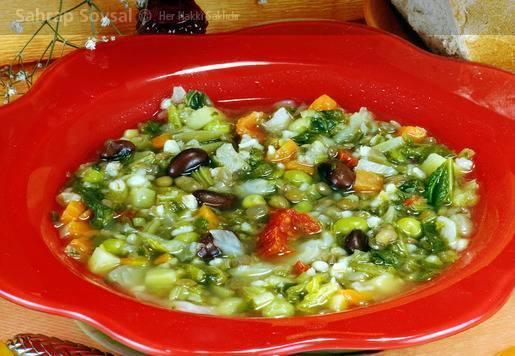 Kişnişli Sebze Çorbası Tarifi
