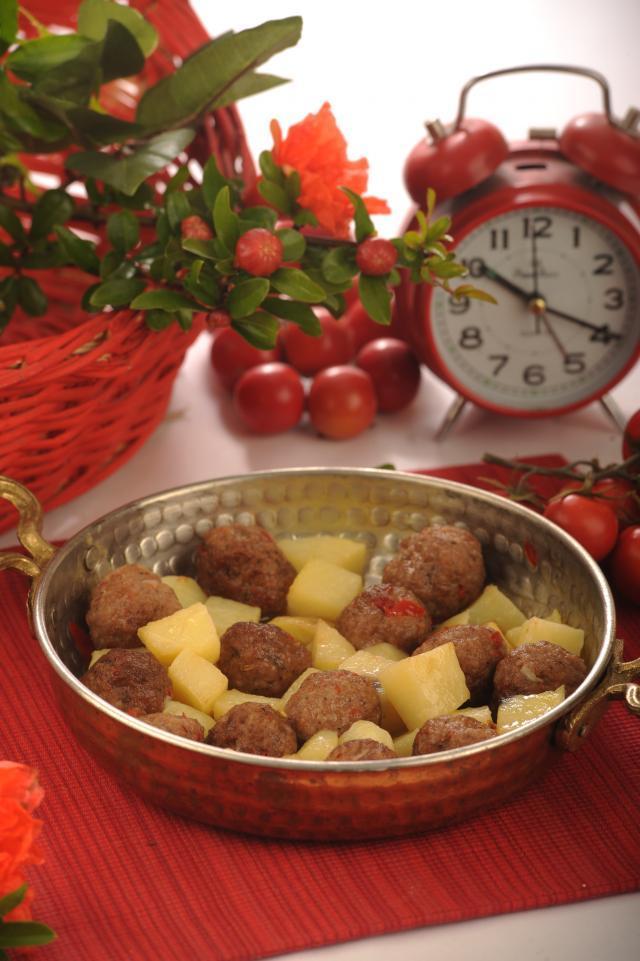 Köfteli Patates Kebabı Tarifi