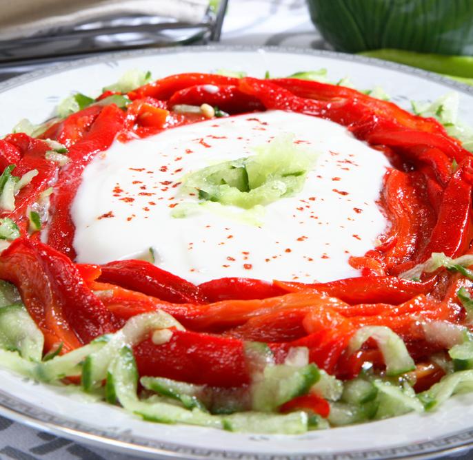 Köz Biberli Begoviç Salatası Tarifi