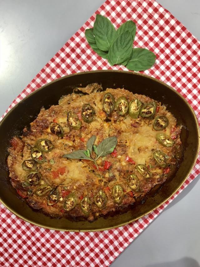 Köz Patlıcanlı Kıymalı Kebap Tarifi