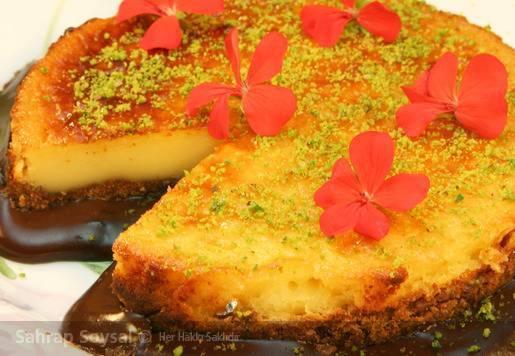 Krem Karamel Pastası Tarifi