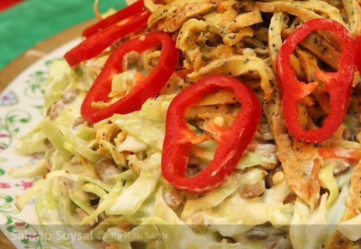 Lahanalı Litvanya Salatası Tarifi