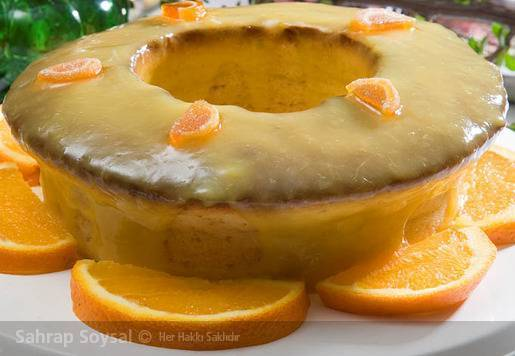 Limonlu Ahududulu Kek