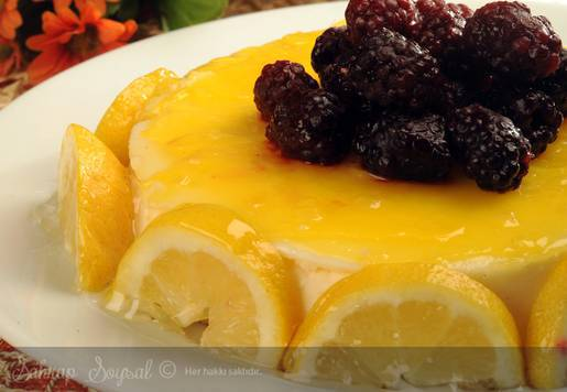 Limonlu Pişmeyen Cheese Kek Tarifi
