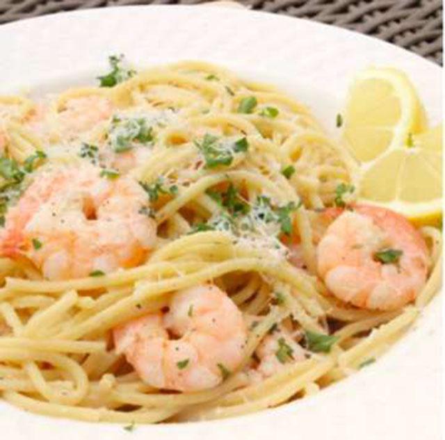 Limonlu ve Karidesli Spaghetti Tarifi
