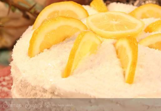 Limonlu Yaş Pasta Tarifi