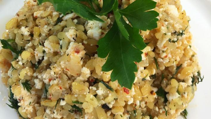 Lorlu Bulgur Salatası Tarifi