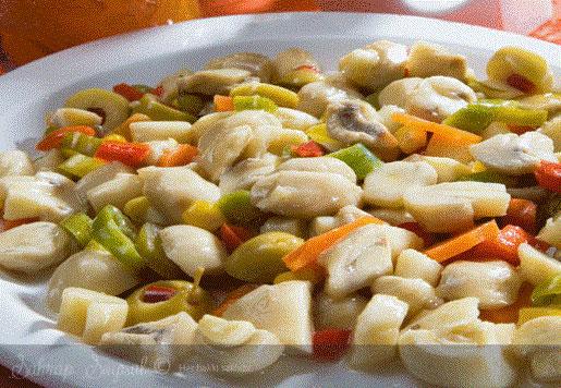 Mantarlı Enginar Salatası Tarifi