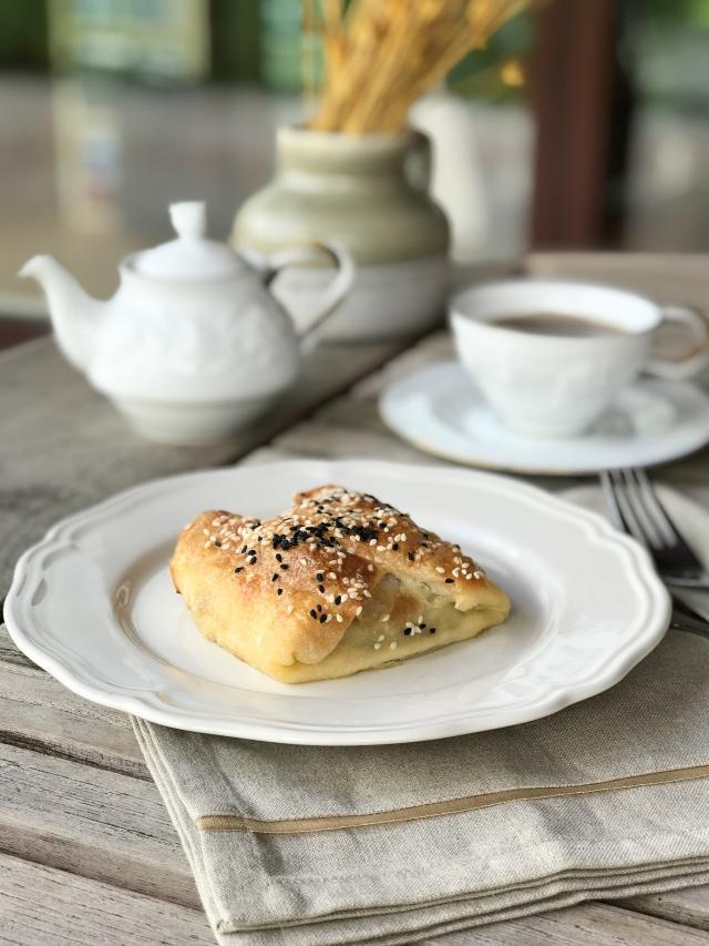 Mantarlı Ispanaklı Börek Tarifi
