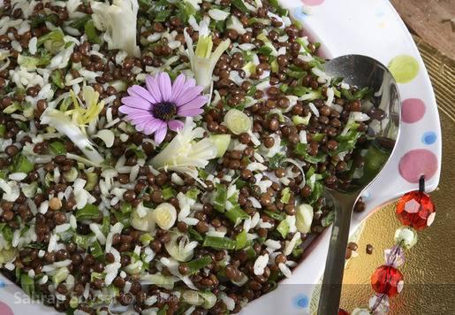 Maşlı Pirinç Salatası Tarifi