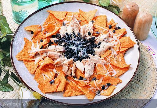 Meksikalı Tavuk Panço Tarifi