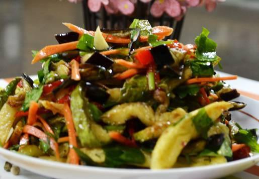 Melikenin Patlıcanlı Salatası Tarifi