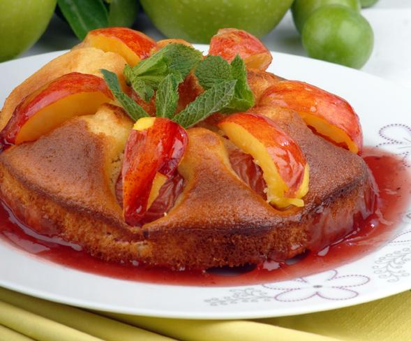 Meyveli Akçabük Keki Tarifi