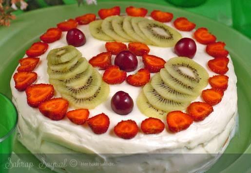 Meyveli Nirvana Pastası Tarifi