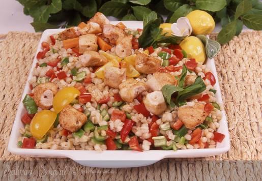 Nar Ekşili Tavuklu Buğday Salatası Tarifi