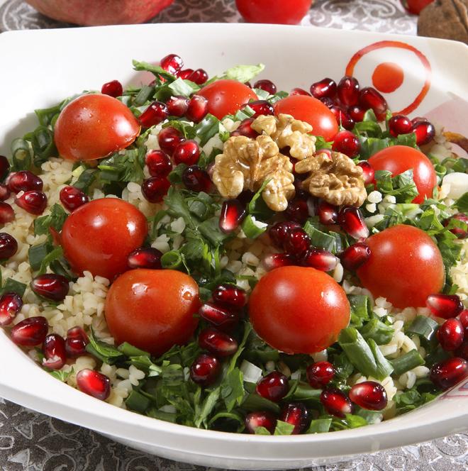 Narlı Tabuli Salatası Tarifi