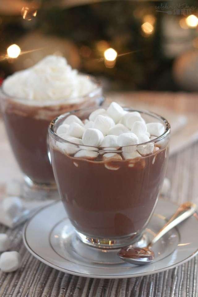 Nutella\'lı Sıcak Çikolata Tarifi
