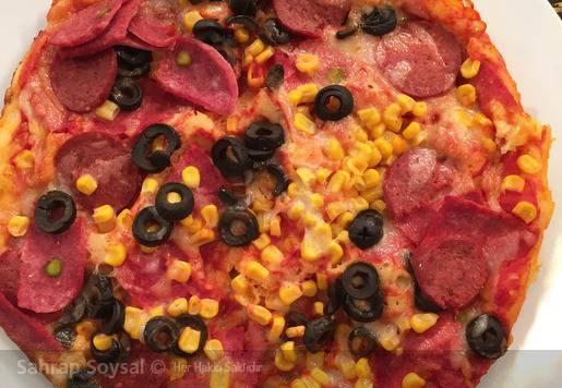 Ocak Üstü Tencere Pizzası Tarifi