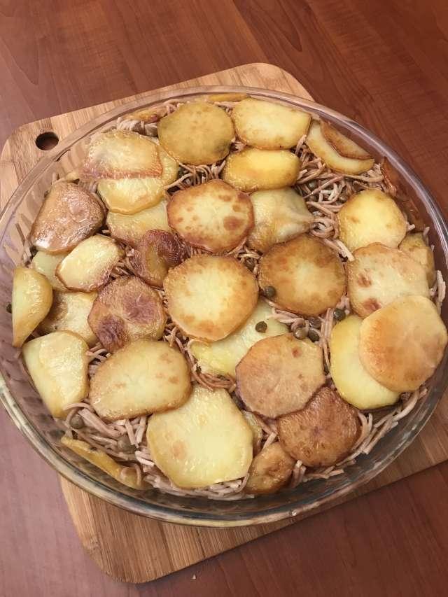 Patatesli Erişte Pilavı Tarifi