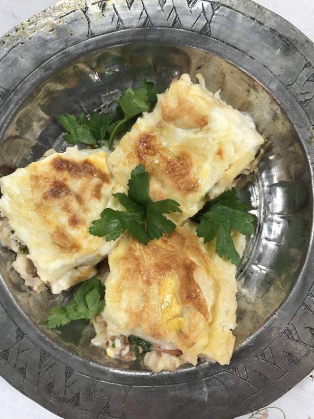 Patlıcanlı Lazanya Böreği Tarifi